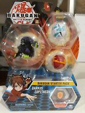 Bakugan Battle Planet Starter Pack Darkus Lupitheon