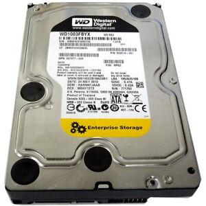 "Disco Duro Western Digital RE Enterprise 1TB 3,5"" SATA 7200RPM WD1003FBYX Usado"