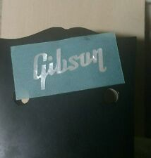 gibson vintage 50's style mop pearl logo inlay decal headstock