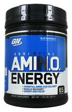 Optimum Nutrition Essential AMINO Energy Blue Raspberry 1.29lbs (585 G)