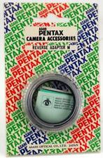 GENUINE PENTAX 49mm REVERSE ADAPTOR  FOR SLR WITH K MOUNT