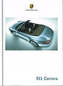 Porsche 911, sehr schönes Prospektbuch 2005
