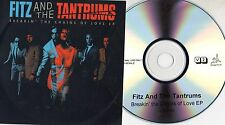 FITZ and THE TANTRUMS CD single PROMO 4 tracce BREAKIN THE CHAINS OF LOVE EP