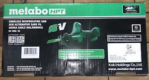 Metabo HPT CR18DAQ4M 18V Li-Ion Sub-Compact Reciprocating Saw (Tool Only) New
