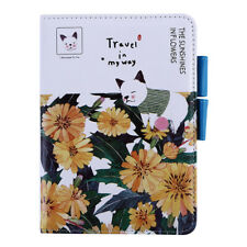 Fashion Travel Diary Notebook Blank Weekly Planner Sketchbook Stationery Mp