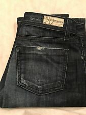 Dylan George Flare distressed Jeans 30x34 size 26