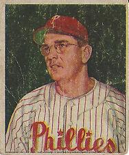 1950 Bowman Picture Cards JIM KONSTANTY #226 Philadelphia Phillies
