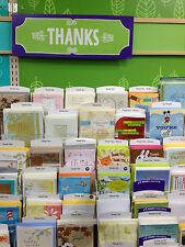 Hallmark Thank You- Thinking Of You Cards 60% off Retail Lot of 10 Card