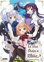 IS THE ORDER A RABBIT (animated movie)  - DVD - Region 1 - Sealed