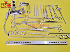 Tonsillectomy Set of 27 pcs Surgical Instruments - Best Quality Stainless Steel