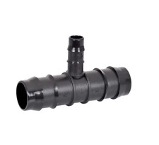 HR LD POLY FITTINGS-REDUCING TEES (SET OF 10)
