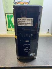 Dell XPS 420 PC Core2 Quad Q6600 2.4GHz 3GB 750GB WINDOWS 7 PC TOWER COMPUTER
