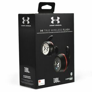 JBL Under Armour True Wireless Flash In-Ear Headphones Red/Black