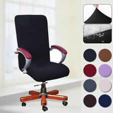 Elastic Swivel Computer Chair Cover Office Home Armchair Seat Decor Slipcover