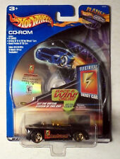 Hot Wheels Monposto, CD ROM Electrical Car 1:64 Scale Die Cast Vehicle 2001 MIP