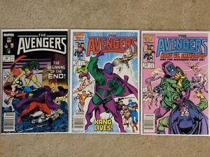 AVENGERS 267 269 296 NM Kang 1st Council of Kangs Marvel Loki Disney+ NEWSSTANDS