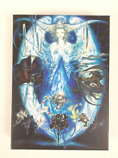 Coffret Artwork Yoshitaka Amano Final Fantasy XIV 14 Online A Realm Reborn PS3