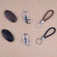 Cuero llaves de coche remoto bolsa Shell + Llavero de cuero para Nissan