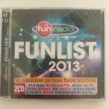 Fun radio Funlist 2013 2 CD neuf sous blister