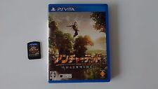 Uncharted Golden Abyss en Boite sur Sony PS Vita japonaise !!!!