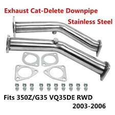 Exhaust Pipe Non Reson Straight Exhaust FITS Nissan 350z Infiniti G35 FX35