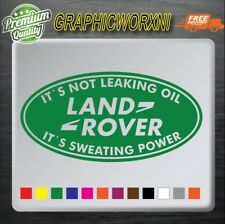 funny land rover sticker decal