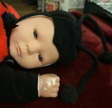 New ListingAnne Geddes Ladybug Baby 1998 Baby Doll 15� Great Condition Hands Still Wrapped