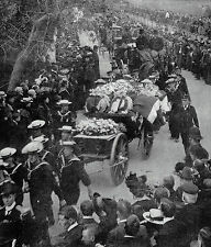 Portsmouth Naval Honours Funeral Crew Of Navy Submarine A1 1904 Photo Article