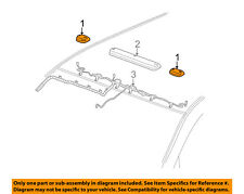 GM OEM Roof Lamps-Roof Lamp Assembly Right 22794643