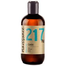 Naissance Castor Oil 250ml Moisturises Hair, Eyebrows and Eyelashes