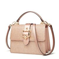 Women Messenger Bags Leather Crossbody Fashion Bling Bling Shoulder Handbags