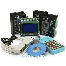 CNC Kit 3 Axis Breakout Board And M542 Drivers For CNC Router/Mill/Plasma DIY