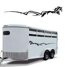 "Horse Stripe Trailer Decal Graphic RV Truck Camper 60"""