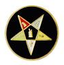 Orden de los Oriental Estrella Redondo Masónico Masoneria Prendedor Pin