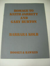 Homage to Keith Jarrett & Gardy Burton Flute Vibraphone Barbara Kolb Sheet Music