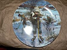 """Dreams of Glory"" Bradford Exchange Plate by Sherwood"
