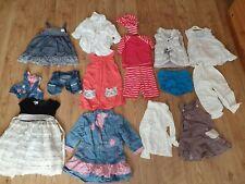 Baby Girl bundle 18 items 12-18 Months M&S, H&M, TOP shop, pumpkin patch,