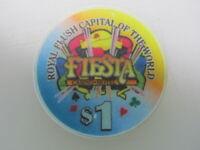 $1 FIESTA Casino & Hotel Las Vegas Nevada + FREE Mystery Bonus Poker Chip