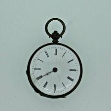 Pocket Watch Parts Steampunk Antique Swiss Silver Key Wound
