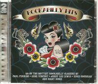 ROCKABILLY HITS - 2 CD BOX SET - 50 OF THE HOTTEST ROCKABILLY CLASSICS