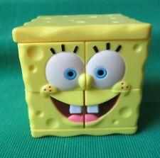 2004 Spongebob Squarepants Puzzle Cube Game Rubiks Burger King toy Nickelodeon