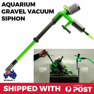 Aquarium Vacuum Siphon Gravel Vac Multi Set Fish Tank Hose Cleaning Water Change