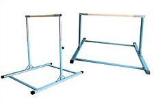 Athletic Gymnastics Expandable Kip Bar Junior Training Bars Blue