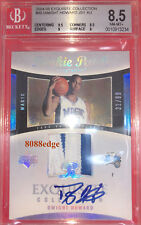 2004-05 EXQUISITE AUTO PATCH RC #90:DWIGHT HOWARD #/99 AUTOGRAPH ROOKIE CARD BGS