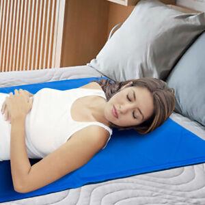 Cooling Blue Gel Cool Pad Mat Mattress Topper Pillow Hot flushes Night sweats