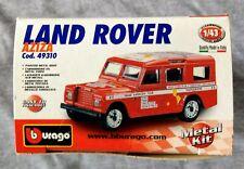 Burago Land Rover (series Iii 109) Aziza 1/43 scale Diecast Kit Nip