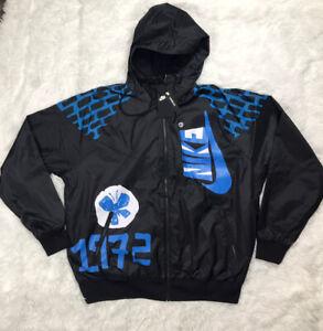 Nike Bowerman Shoemaker Exclusive Windbreaker Jacket Mens Size L Large Hoodie🔥