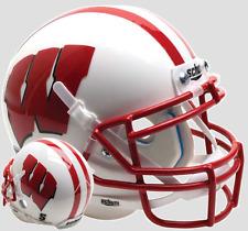 WISCONSIN BADGERS NCAA Schutt XP Full Size AUTHENTIC Football Helmet