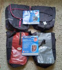 Fahrrad-Gepäcktaschen-Set 4x insgesamt 8 einzelne Taschen