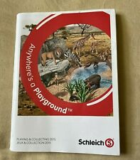 Schleich Anywhere's a Playground Playing & Collecting 2015 Booklet